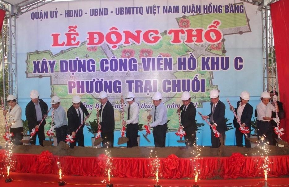 Hồng Bàng (Hải Phòng): Xây dựng công viên cây xanh tại phường Trại Chuối