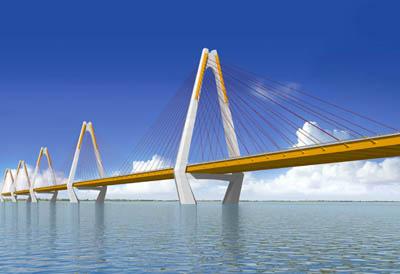 Ngày 15/4/2014 hợp long cầu Nhật Tân