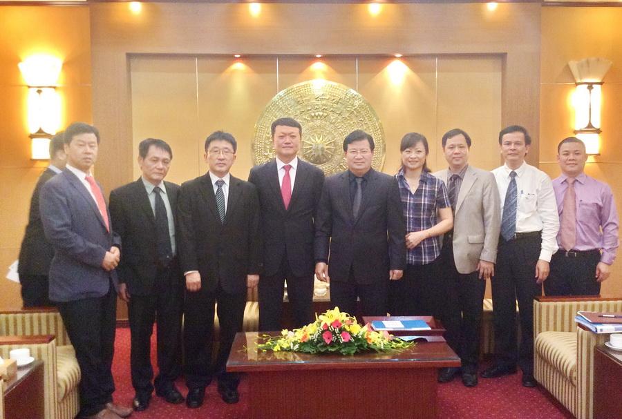 Doanh nghiệp Hàn quốc quan tâm dự án Bệnh viện Xây dựng mới