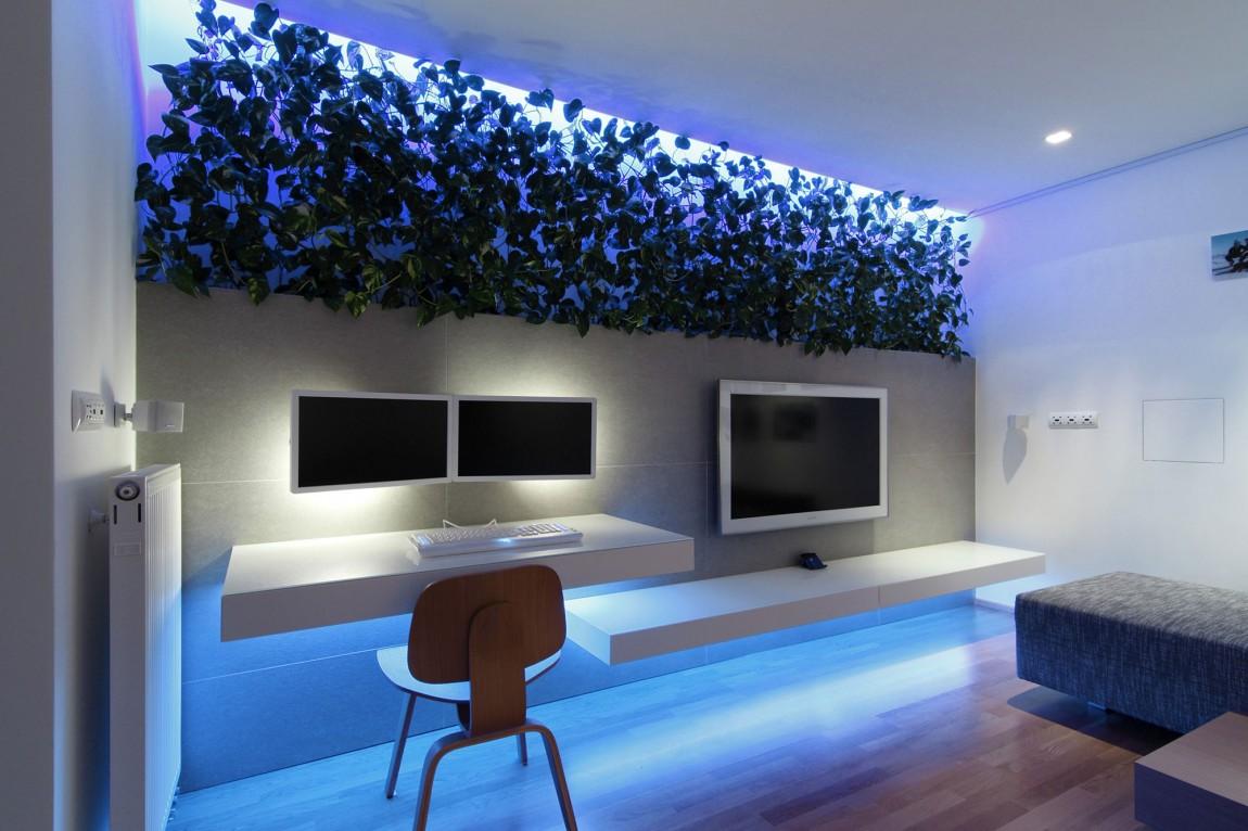 105150baoxaydung image007 Chiêm ngưỡng căn hộ hiện đại với hệ thống chiếu sáng bằng đèn LED