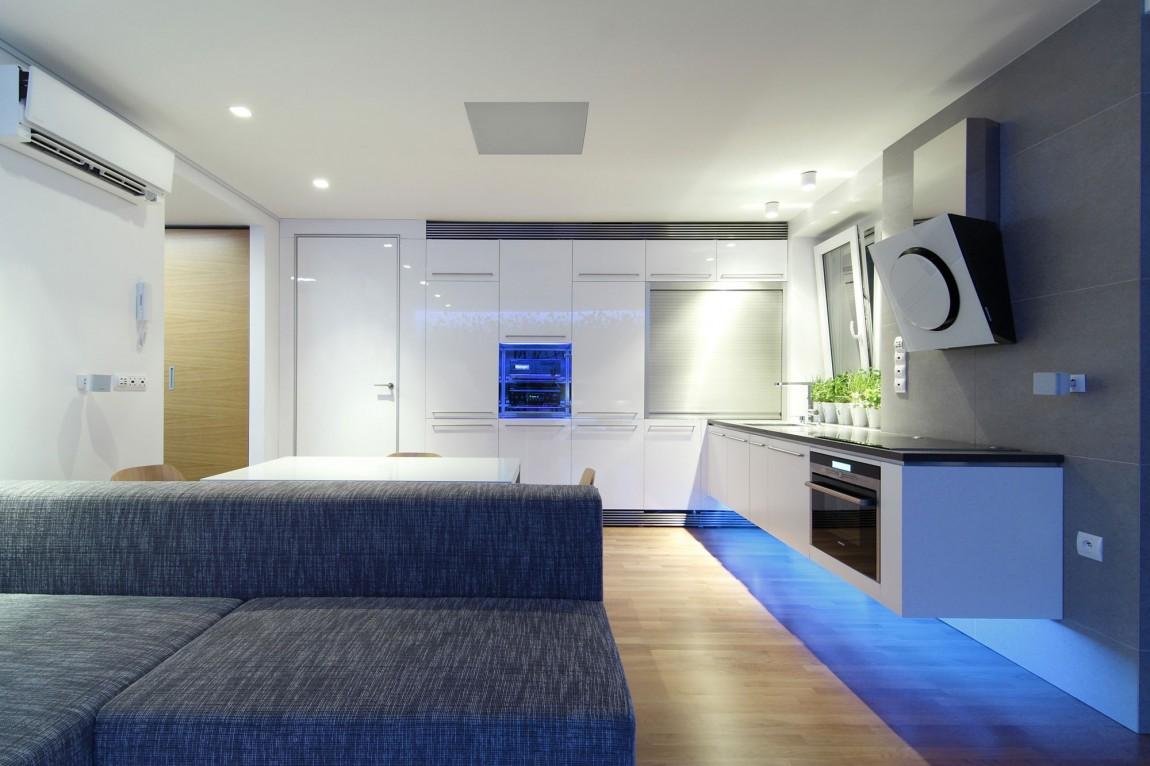 105151baoxaydung image011 Chiêm ngưỡng căn hộ hiện đại với hệ thống chiếu sáng bằng đèn LED