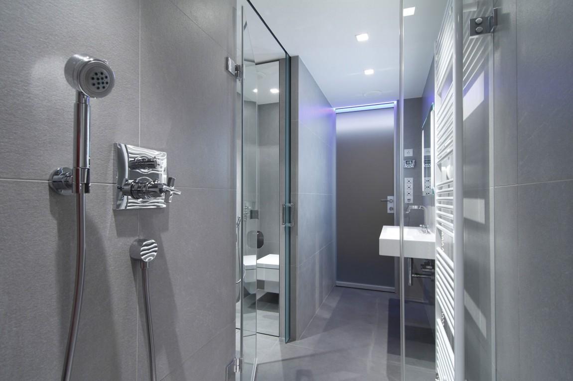 105151baoxaydung image012 Chiêm ngưỡng căn hộ hiện đại với hệ thống chiếu sáng bằng đèn LED