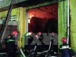 Cháy lớn thiêu rụi khu nhà xưởng Công ty Hameco Hưng Yên