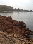 Phát hiện thêm một vụ lấp sông Đồng Nai ở thượng nguồn với quy mô lớn