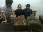 Nghệ An: Bắt đối tượng vận chuyển 25 bánh cần sa