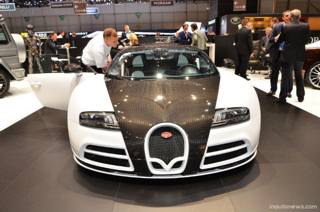 4. Mansory Vivere Bugatti Veyron giá 3,4 triệu USD