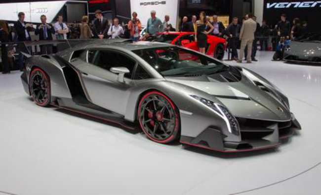 3. Lamborghini Veneno giá 4,5 triệu USD