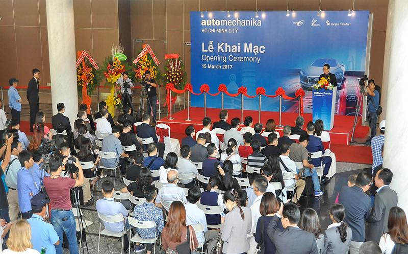 Phiên bản thực tế, mới lạ và hấp dẫn tại Automechanika TP Hồ Chí Minh 2018