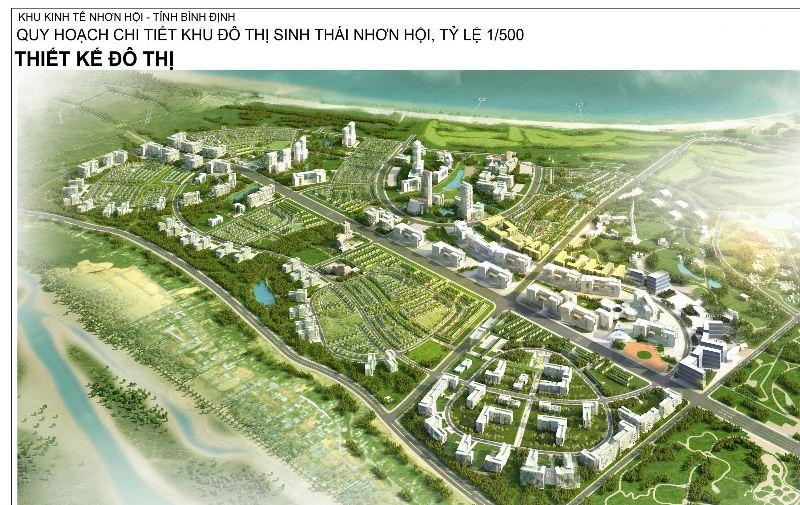 Góp ý dự án Đầu tư phát triển đô thị tại Khu đô thị du lịch sinh thái Nhơn Hội, Bình Định