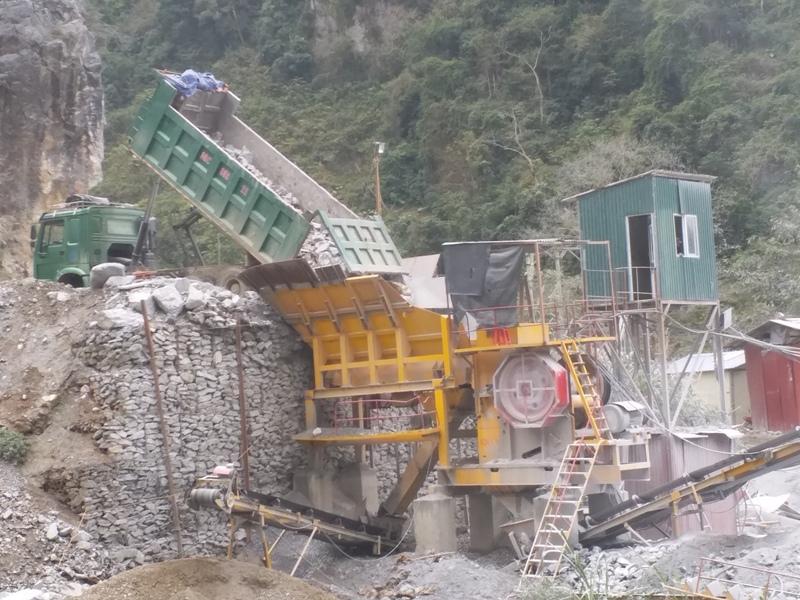 Bảo Lâm (Cao Bằng): Xây dựng thủy điện Mông Ân, mỏ đá tàn phá môi trường