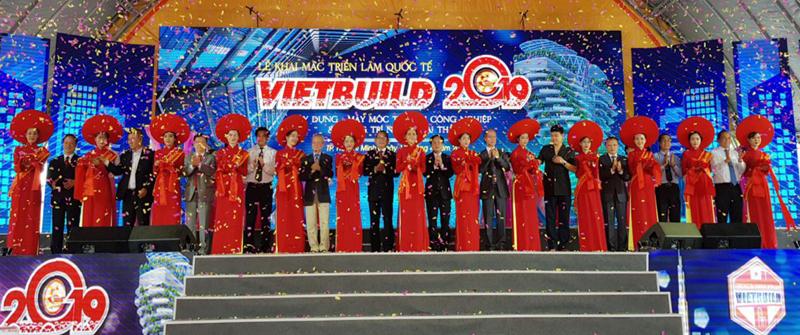 Khai mạc Vietbuild 2019 lần thứ nhất tại TP Hồ Chí Minh
