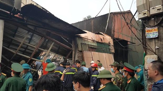 Khởi tố vụ cháy khiến 8 người tử vong ở Nam Từ Liêm