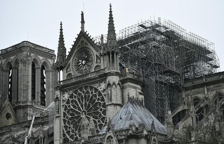 Xác định một số nhược điểm trong cấu trúc Nhà thờ Đức Bà Paris