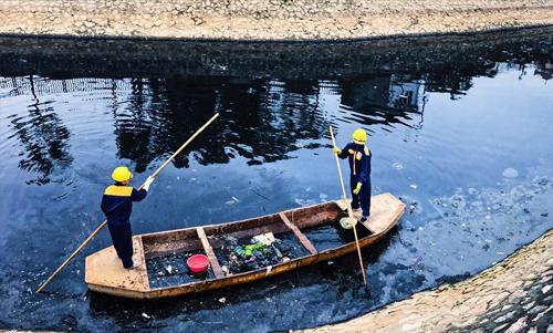 Đề xuất lấy nước sông Hồng làm sạch sông Tô Lịch