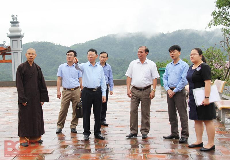 Bắc Giang: Tập trung đẩy nhanh tiến độ dự án Khu du lịch tâm linh - sinh thái Tây Yên Tử