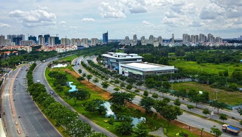 TP Hồ Chí Minh xây dựng quận 7 thành khu đô thị thông minh