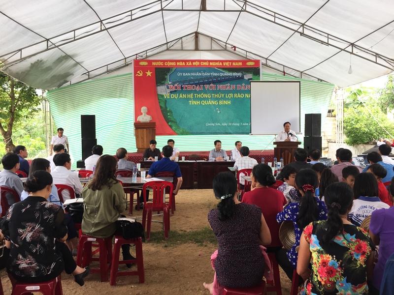 Quảng Bình: Vẫn tranh cãi xung quanh vị trí tuyến công trình thủy lợi Rào Nan