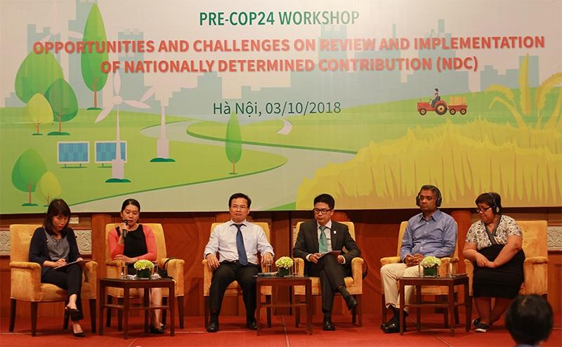 CCWG tổ chức hội thảo quốc tế về kế hoạch thích ứng quốc gia