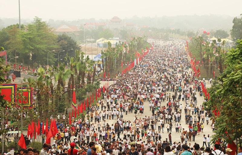 Phú Thọ: Hơn 7 triệu lượt khách về Giỗ Tổ Hùng Vương năm 2019