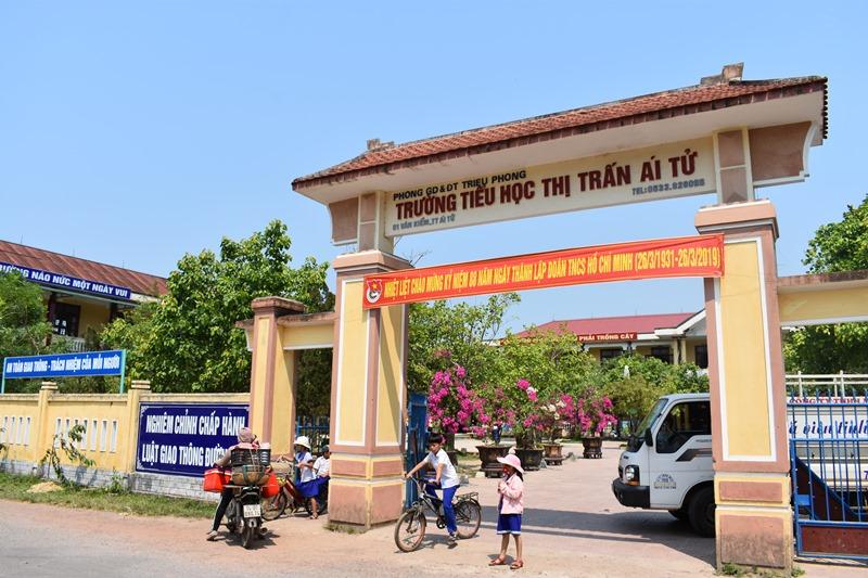 Quảng Trị: Cần xem lại việc thu hồi tiền công trình nâng cấp cải tạo trường tiểu học thị trấn Ái Tử