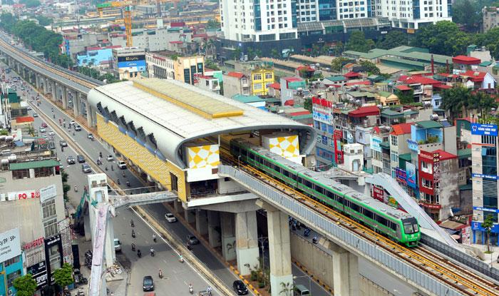 Đẩy nhanh công tác thi công hoàn thiện các hạng mục và kiểm soát chất lượng công trình đường sắt Cát Linh - Hà Đông