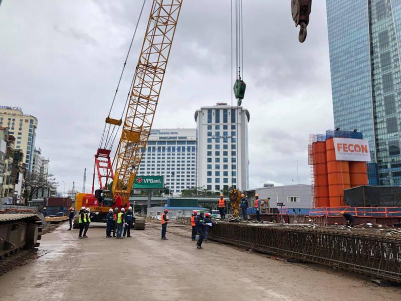 FECON nhận gói thầu tiếp theo tại dự án Metro Line 3 Hà Nội