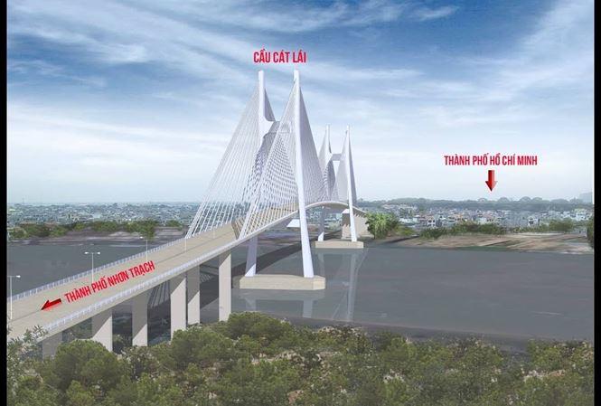 TPHCM và Đồng Nai phối hợp xây cầu Cát Lái