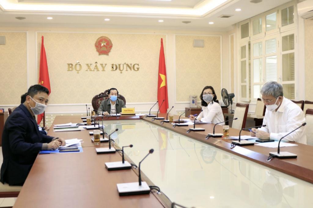 Bộ trưởng Phạm Hồng Hà dự họp Chính phủ trực tuyến phiên thường kỳ tháng 3