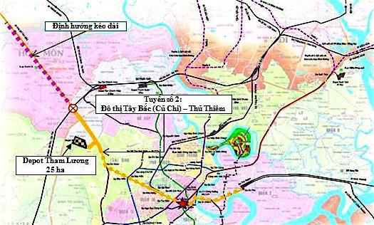 Thành phố Hồ Chí Minh phê duyệt hệ số điều chỉnh giá đất tuyến metro số 2