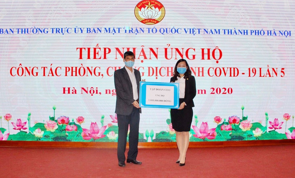 tap doan ceo ung ho 2 ty dong cung ha noi chong dich covid 19