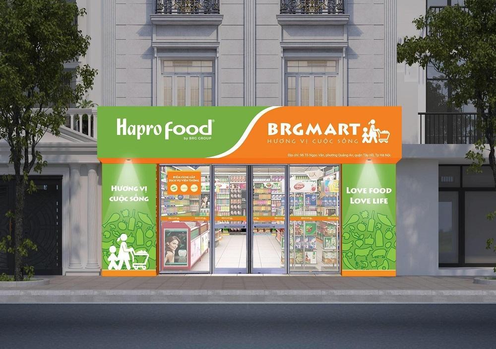 Hệ thống BRGMart cung ứng các mặt hàng thiết yếu cho nhân dân khu vực bị cách ly