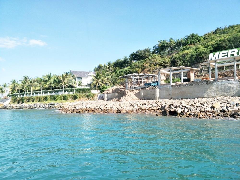 UBND tỉnh Khánh Hòa tiếp tục có văn bản xử lý nghiêm dự án Khu du lịch đảo Hòn Tằm