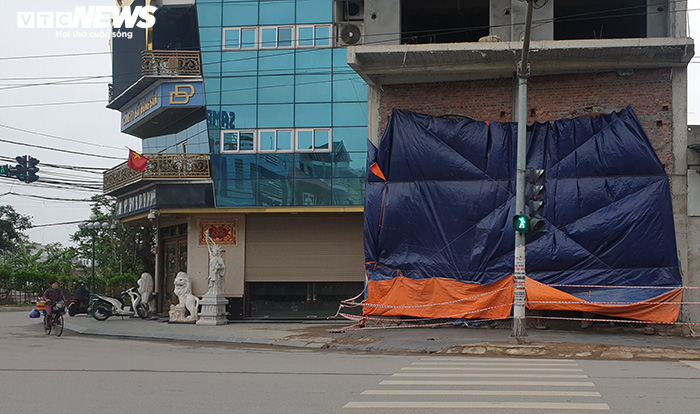 """Thái Bình: Công trình vi phạm trật tự xây dựng của Đường """"Nhuệ"""" bị đình chỉ thi công"""