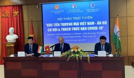 Xúc tiến thương mại Việt Nam - Ấn Độ: Cơ hội và thách thức hậu Covid-19