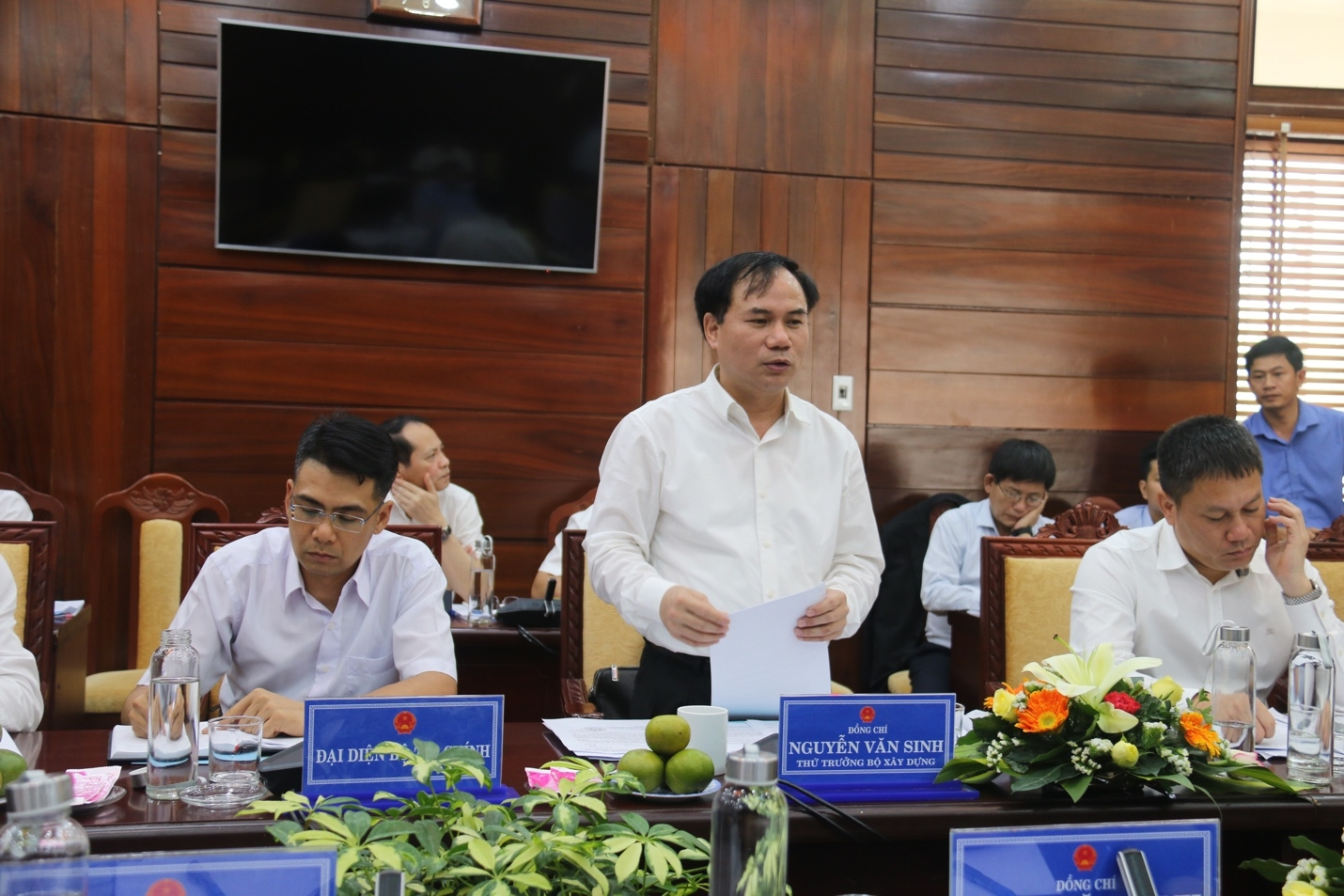 Bộ Xây dựng làm việc với UBND tỉnh Quảng Ngãi về tháo gỡ khó khăn đối với Nhà máy xi măng Đại Việt