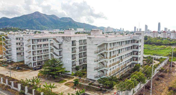 Khánh Hòa: Cận cảnh khu Ký túc xá hàng chục tỷ không một bóng sinh viên