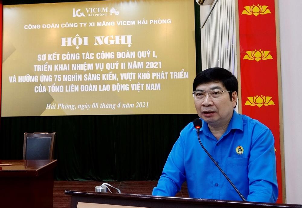 """Công đoàn VICEM Hải Phòng: Phát động hưởng ứng Chương trình """"75 nghìn sáng kiến, vượt khó, phát triển"""""""