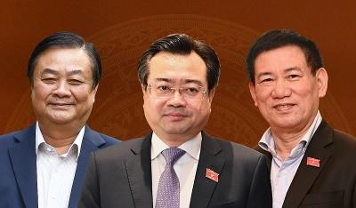 Kỳ vọng với các tân bộ trưởng khối kinh tế