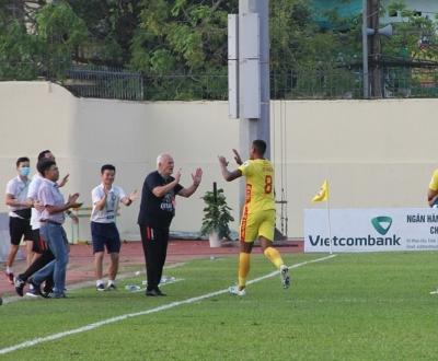 Câu lạc bộ Đông Á Thanh Hóa thắng thuyết phục trước câu lạc bộ Hải phòng