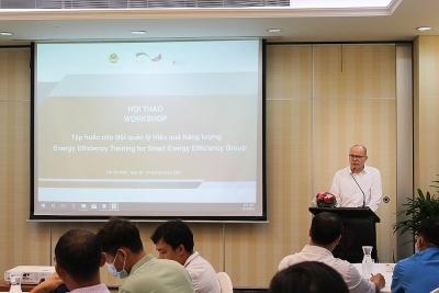 Hội thảo Tập huấn cho Đội quản lý Hiệu quả năng lượng cho các doanh nghiệp