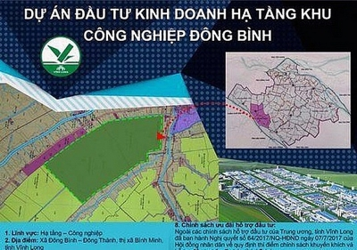 Vĩnh Long: Trao Giấy chứng nhận đăng ký đầu tư cho nhà đầu tư Khu công nghiệp Đông Bình