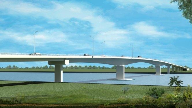 An Giang: Đầu tư xây dựng cầu Châu Đốc chuyển hình thức BOT thành đầu tư công