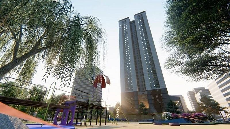 Áp dụng cấp độ dẻo thấp trong thiết kế công trình Khu chung cư cao cấp Phú Hồng Thịnh
