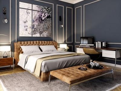 Biến tấu nội thất nhà ở với phong cách bán cổ điển