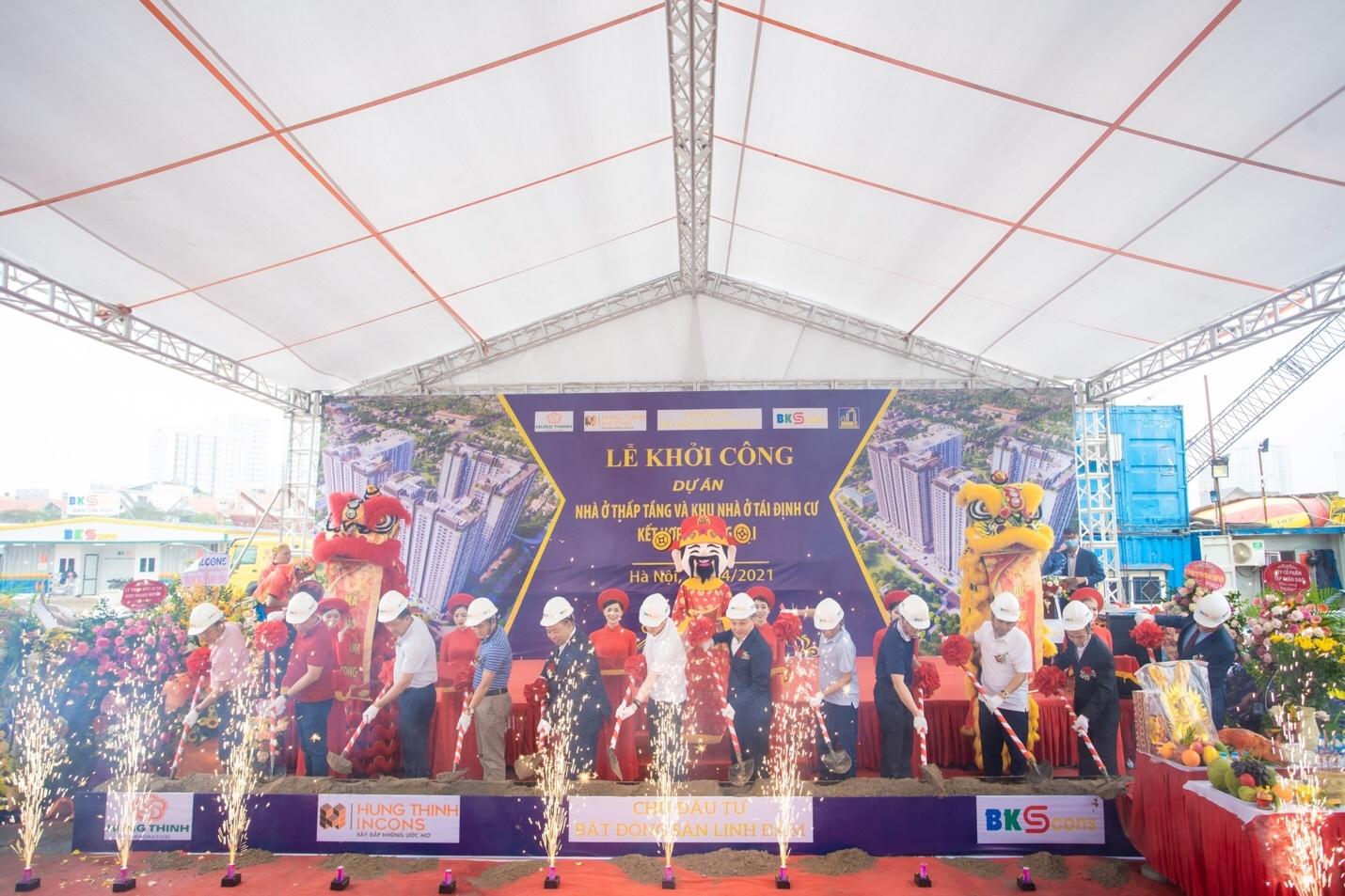 Hà Nội: Khởi công xây dựng dự án Chung cư Tây Nam Linh Đàm