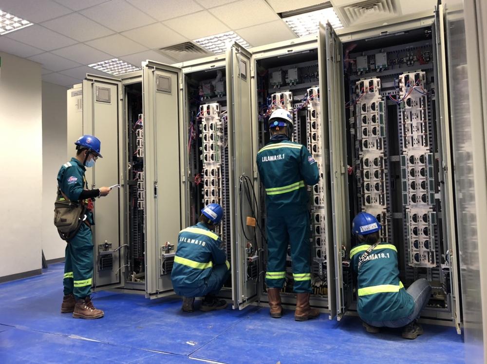 Công đoàn Lilama 18.1 tham gia bảo đảm an toàn lao động trên công trường nhà máy Nhiệt điện Nghi Sơn 2