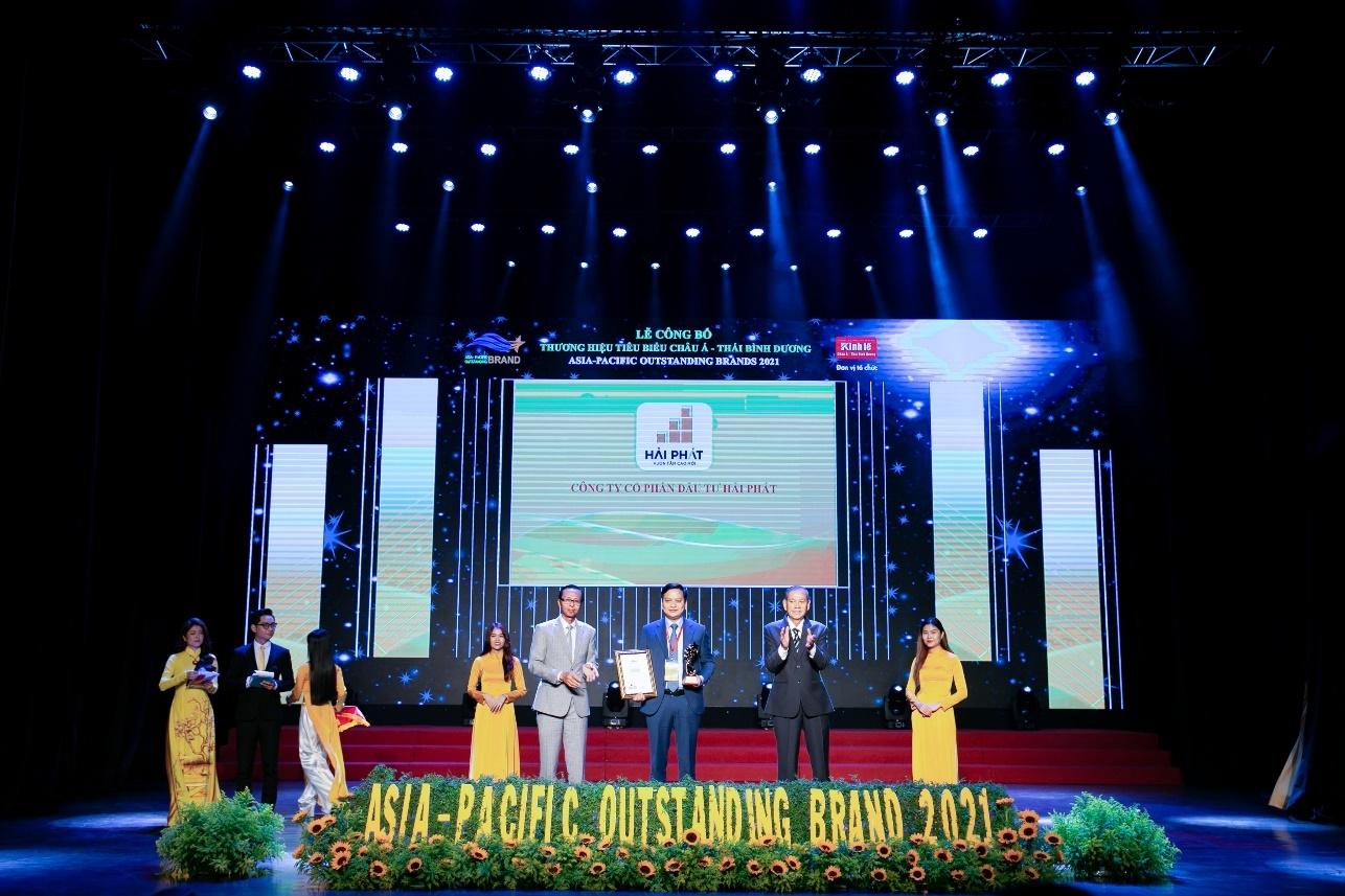 Tập đoàn Hải Phát: Top 10 Thương hiệu tiêu biểu Châu Á – Thái Bình Dương 2021