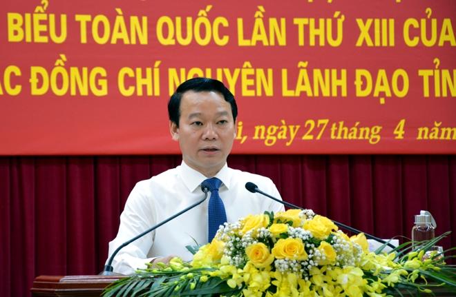Yên Bái: Tổ chức Hội nghị nghiên cứu, học tập, quán triệt Nghị quyết Đại hội XIII của Đảng