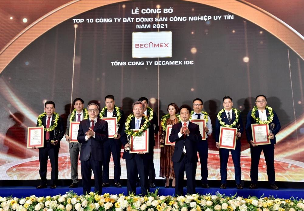 Vì sao Becamex IDC được chọn là doanh nghiệp bất động sản công nghiệp uy tín nhất?