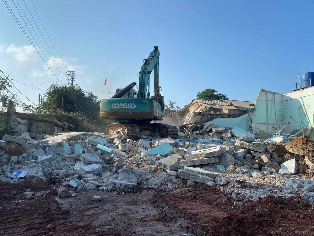 Nghi Sơn (Thanh Hóa): Đã hoàn thành cưỡng chế giải phóng mặt bằng 3/5 dự án trọng điểm